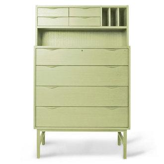 HKliving wooden secretairy green