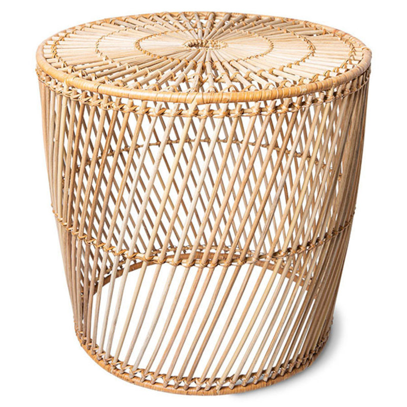 HKliving-collectie wicker side table