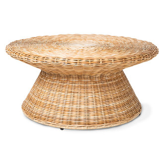 HKliving rattan coffee table