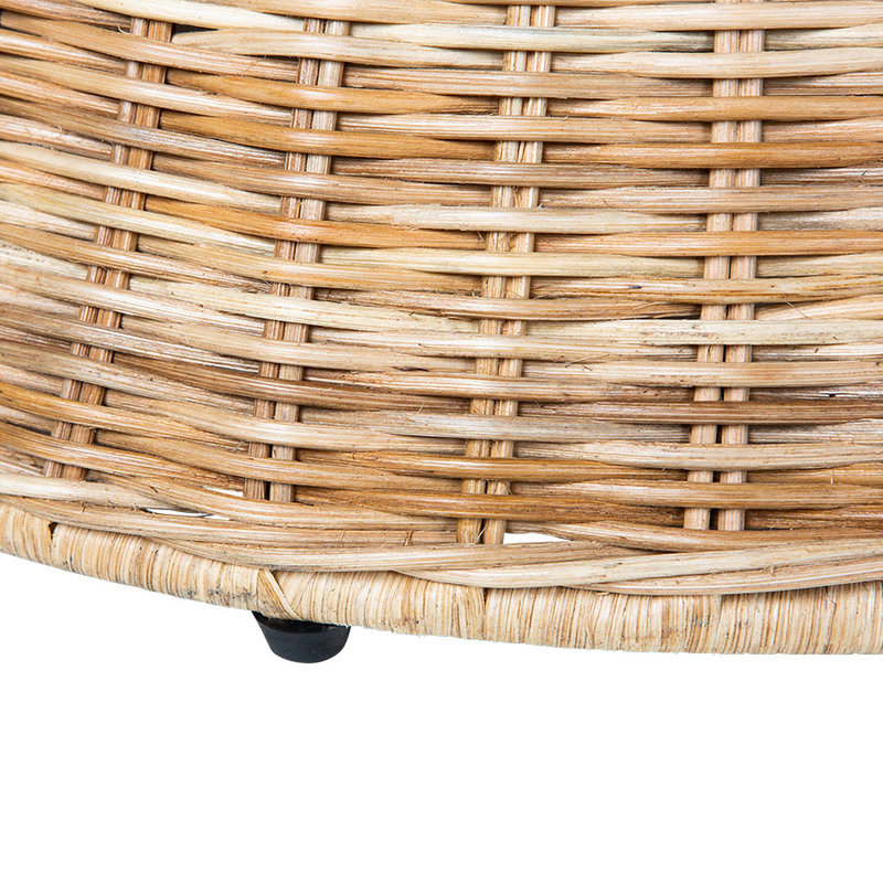 HKliving-collectie rattan coffee table