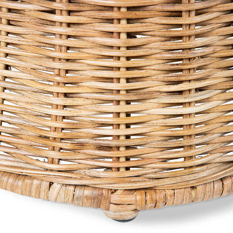 HKliving-collectie rattan side table high