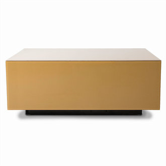 HKliving mirror block coffee table olive