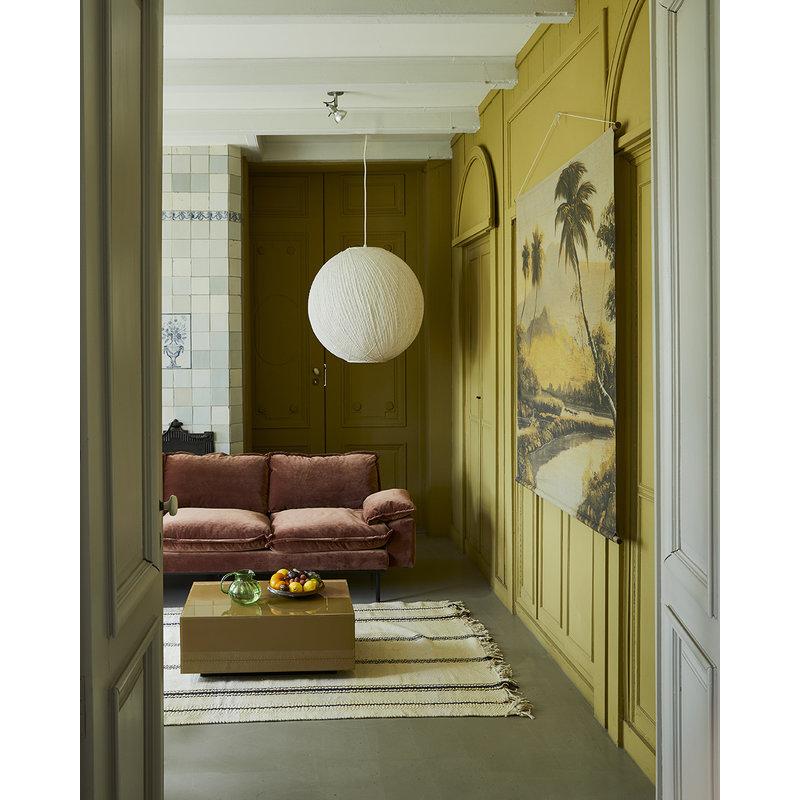 HKliving-collectie Spiegel block salontafel olijf