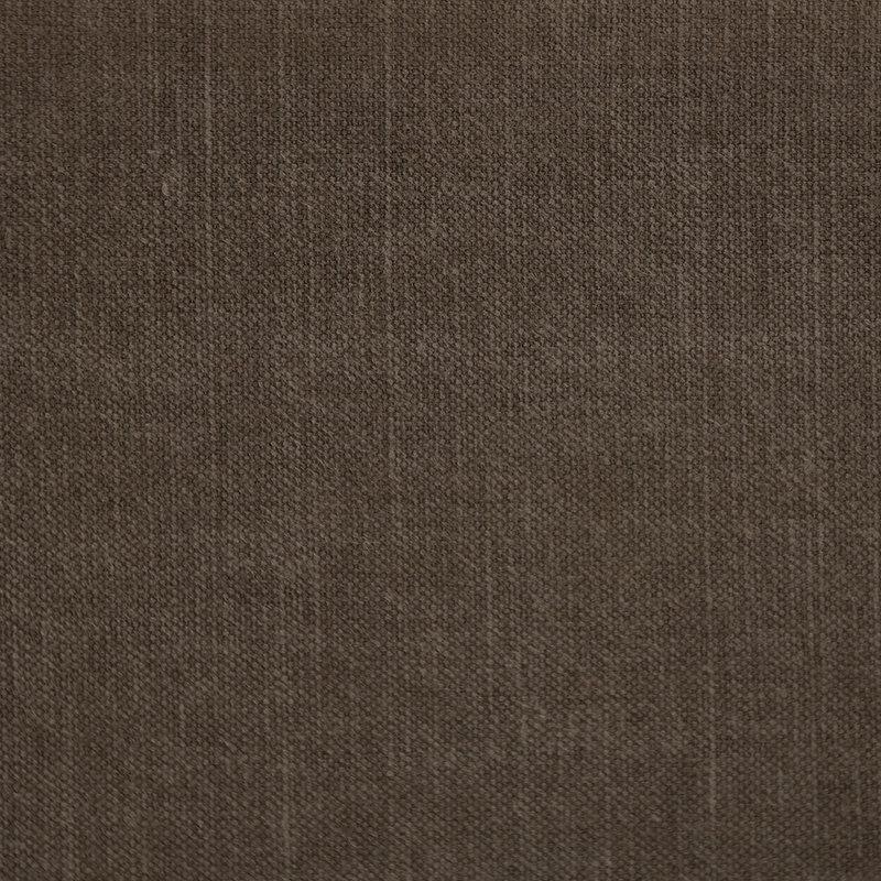 HKliving-collectie Retrosofa hocker linnen shadow bruin
