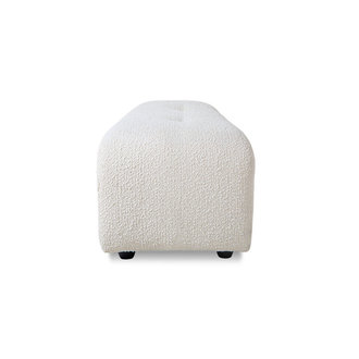 HKliving vint couch: element hocker small, boucle, cream