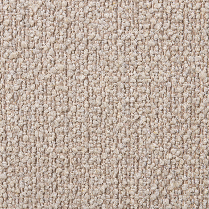 HKliving-collectie Jax bank element round boucle taupe
