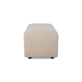 HKliving jax couch: element hocker small, boucle, taupe