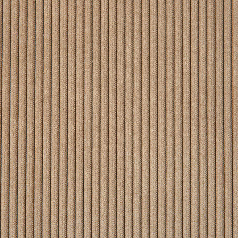 HKliving-collectie Vint bank element rechts 1,5-seat corduroy rib bruin