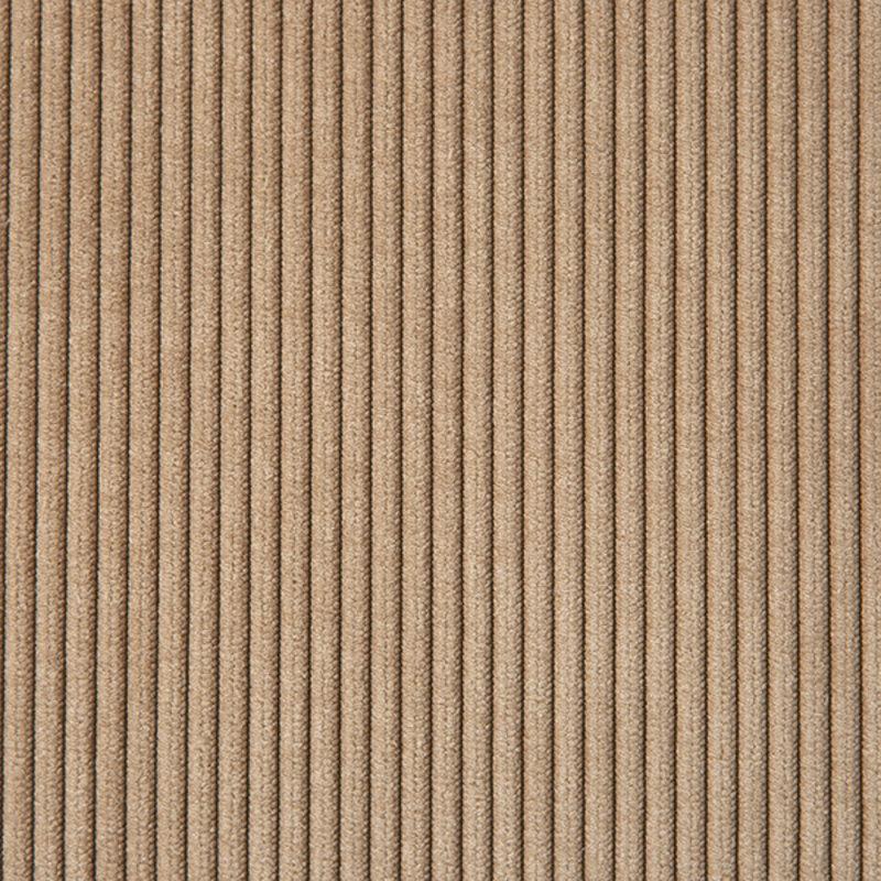 HKliving-collectie vint couch: element left divan, corduroy rib, brown