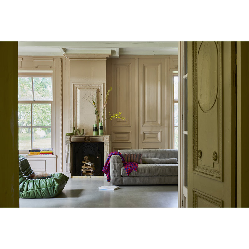 HKliving-collectie club couch: linen blend, taupe