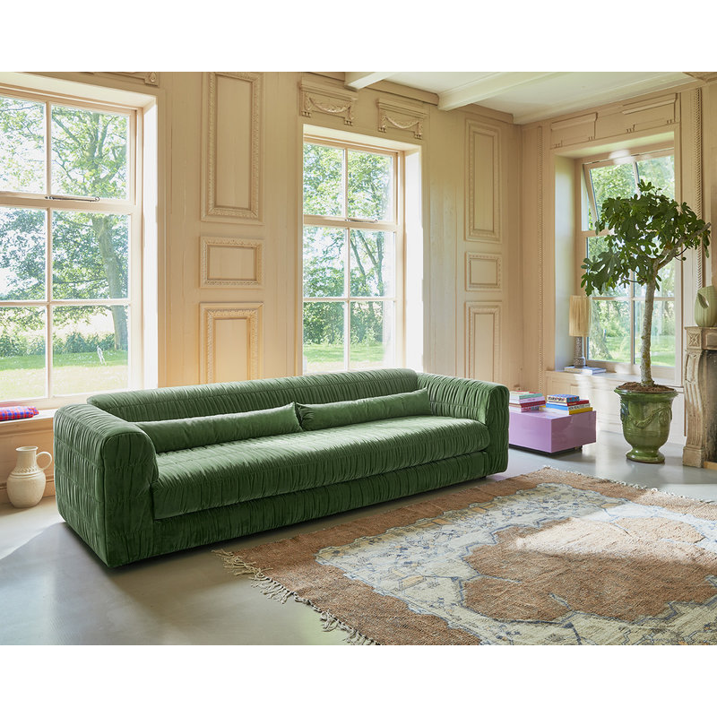 HKliving-collectie club couch: royal velvet, green