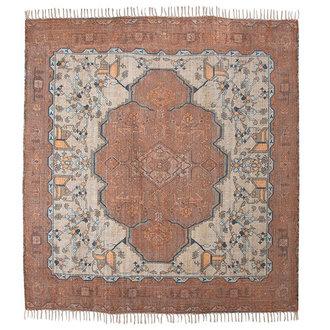 HKliving printed rug square overtufted (250x250)