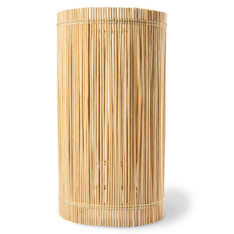 HKliving-collectie Lampenkap cylinder bamboe ø22cm