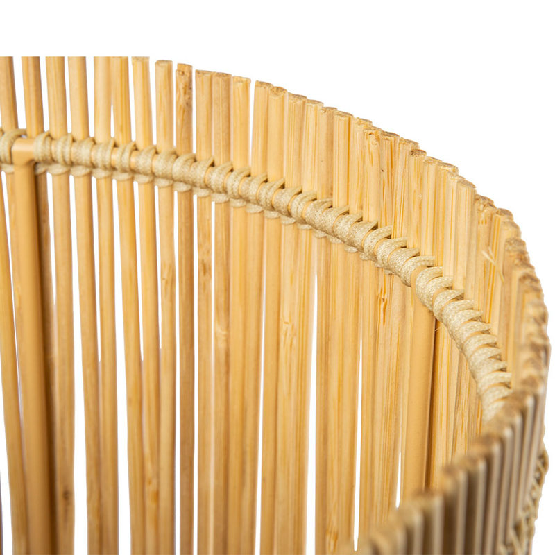 HKliving-collectie cylinder bamboo lamp shade ø22cm