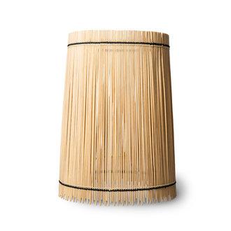 HKliving cone bamboo lamp shade ø32cm