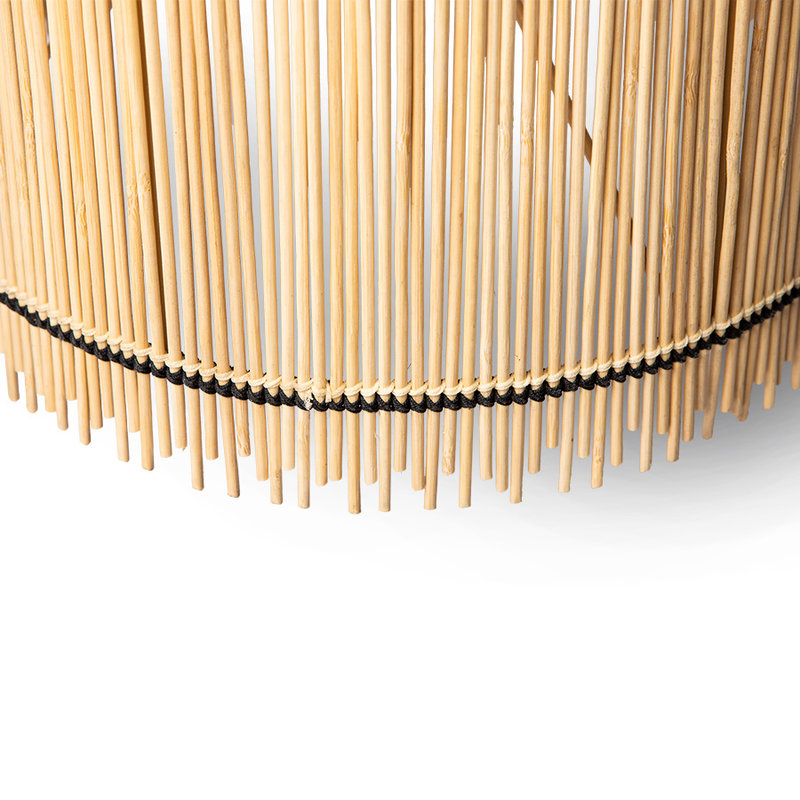 HKliving-collectie cone bamboo lamp shade ø32cm