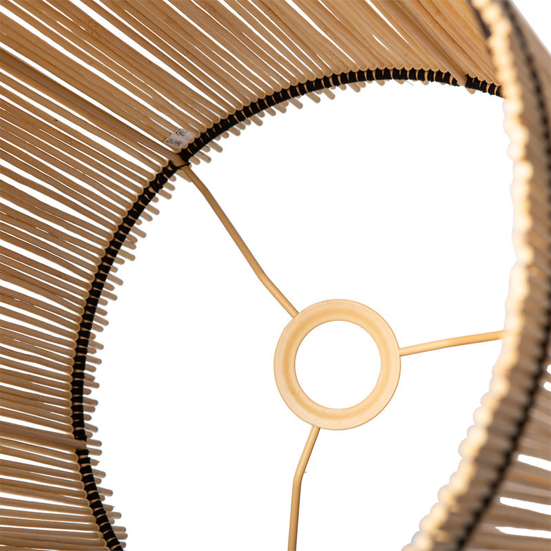 HKliving-collectie Lampenkap cylinder bamboe ø32cm