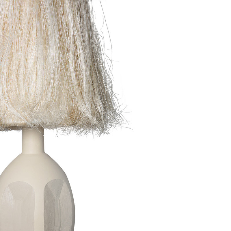HKliving-collectie boho abaca lamp shade