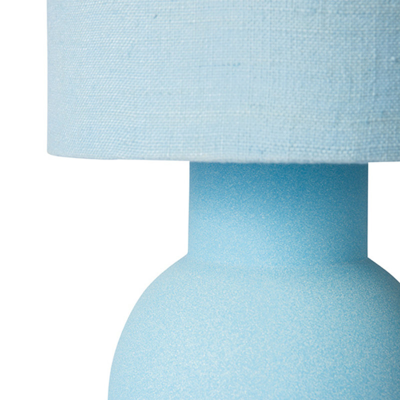 HKliving-collectie ceramic lamp base ice blue