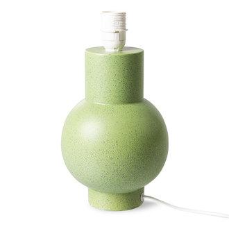 HKliving Lampvoet keramiek pistachio groen