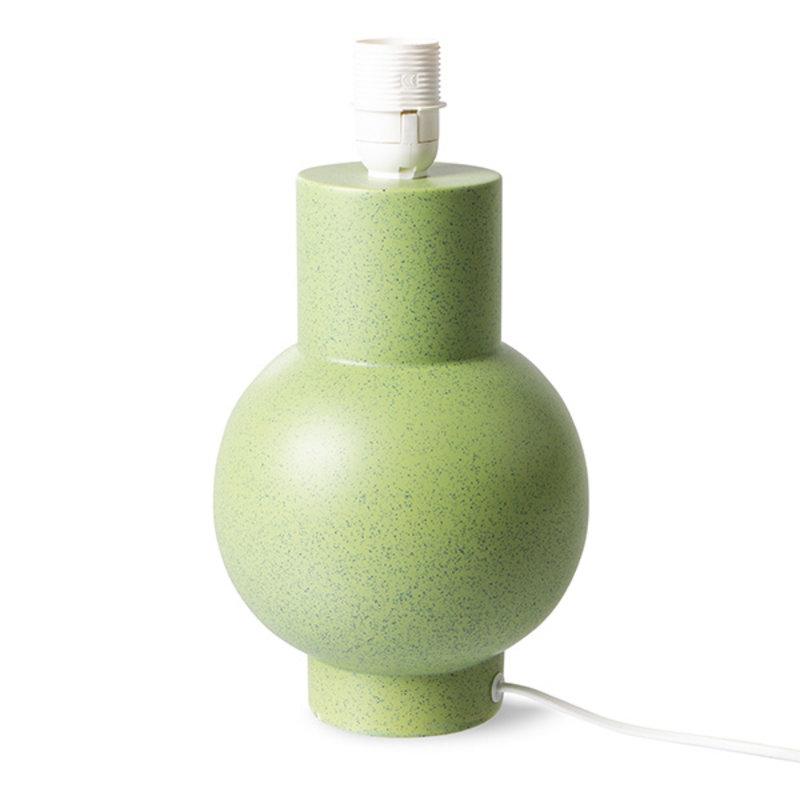HKliving-collectie ceramic lamp base pistachio green