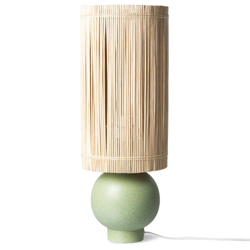 HKliving-collectie Lampvoet keramiek pistachio groen