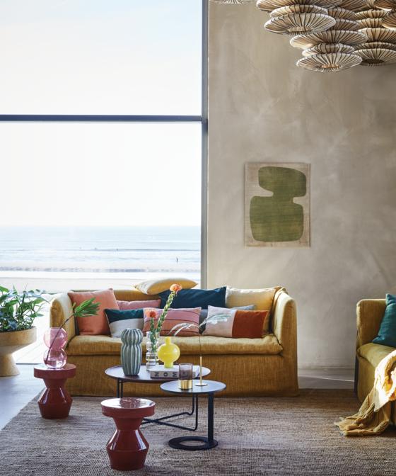 Een kleurrijk interieur; hoe creëer je dat?