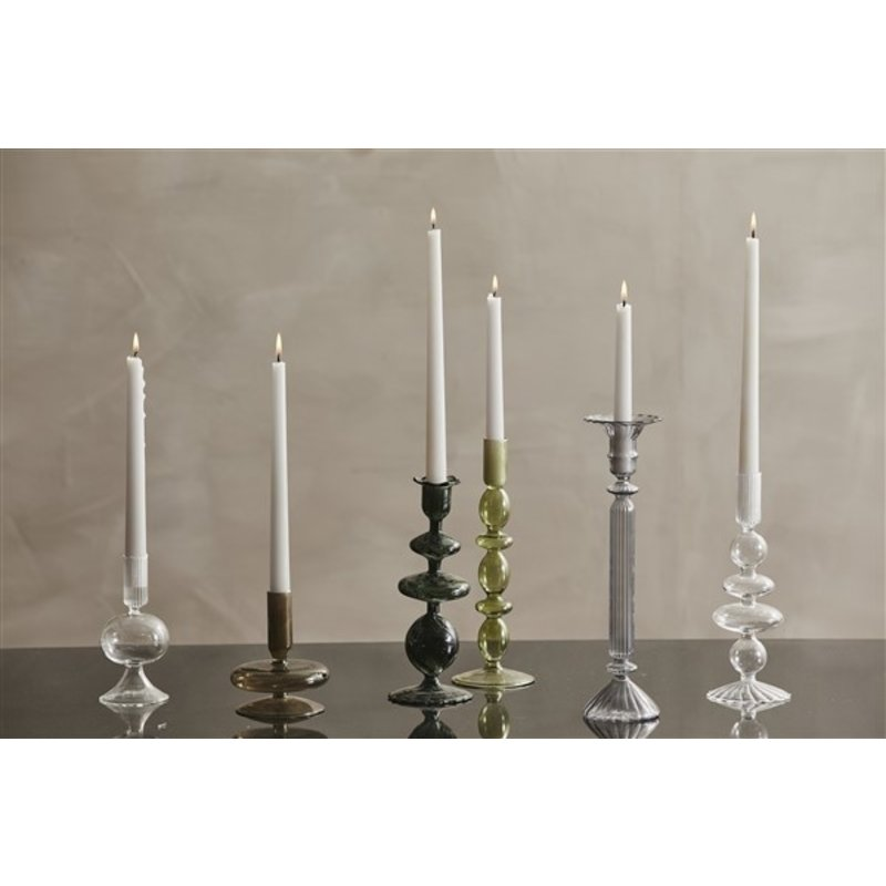Nordal-collectie ERISKA candleholder, smoked