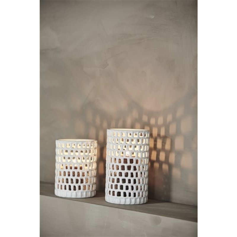 Nordal-collectie WAKE deco holder, S, white