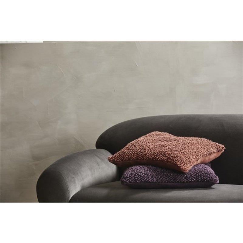 Nordal-collectie Kussenhoes LYRA burgundy S