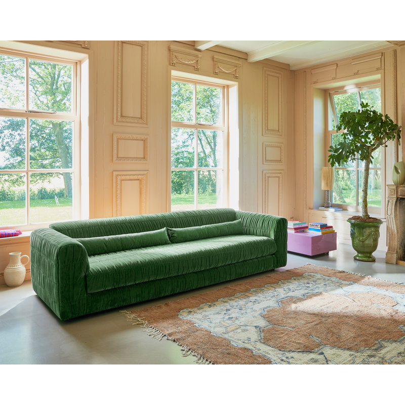 HKliving-collectie Vloerkleed square overtufted geprint  (250x250)