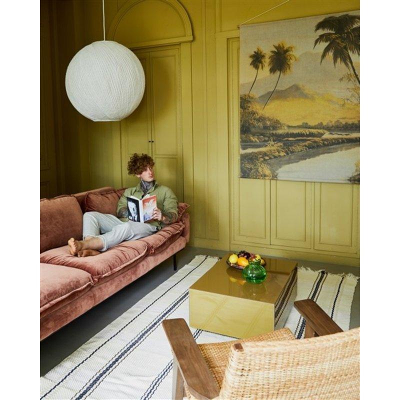 HKliving-collectie retro sofa: 3-seats, royal velvet, magnolia
