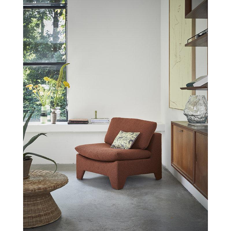 HKliving-collectie Rattan salontafel