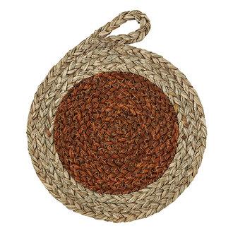 Madam Stoltz Seagrass trivet