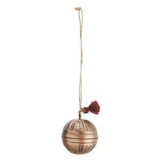 Madam Stoltz Hanging aluminium ball