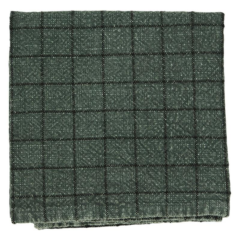 Madam Stoltz-collectie Checked kitchen towel