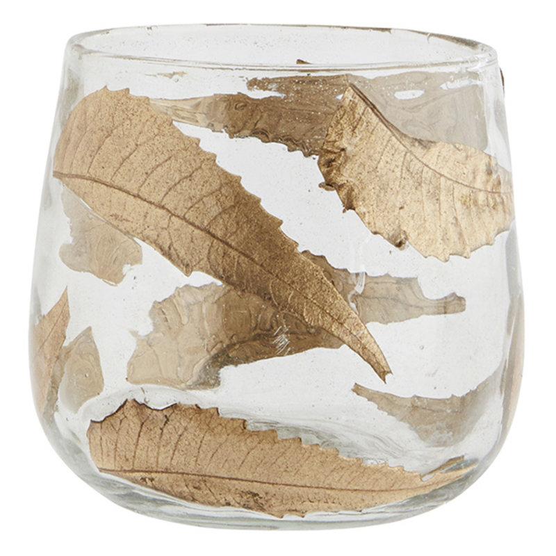 Madam Stoltz-collectie Glass votive w/ mosaic