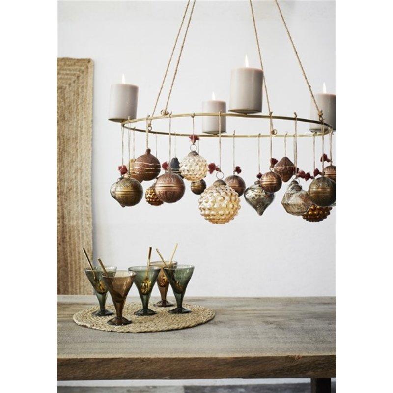 Madam Stoltz-collectie Hanging glass onion