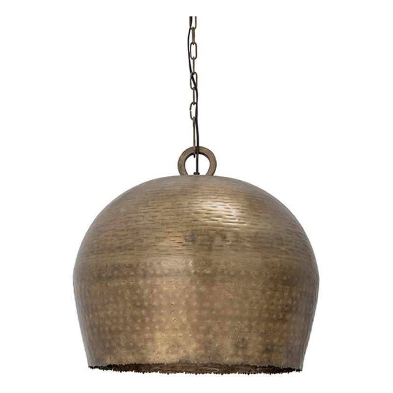 Bloomingville-collectie Metalen hanglamp Nilas brass