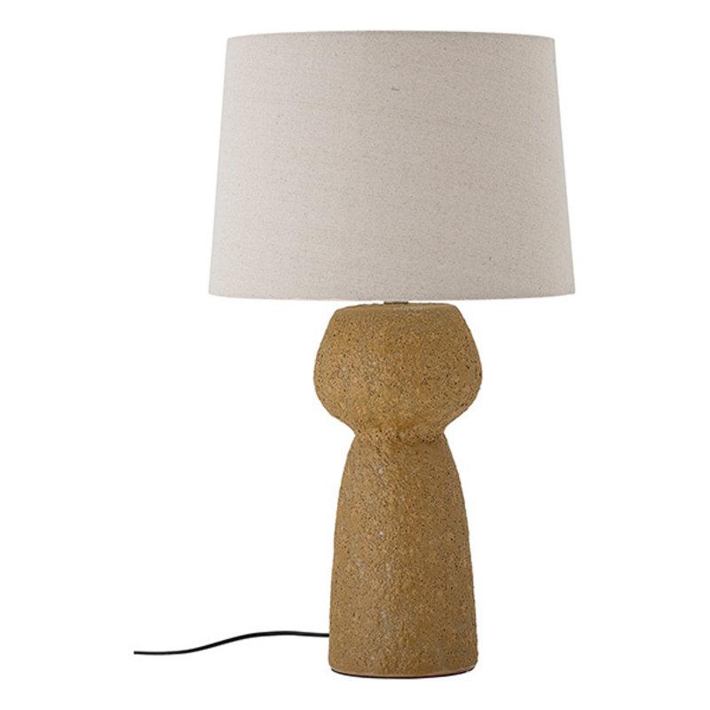 Bloomingville-collectie Tafellamp Lavin geel
