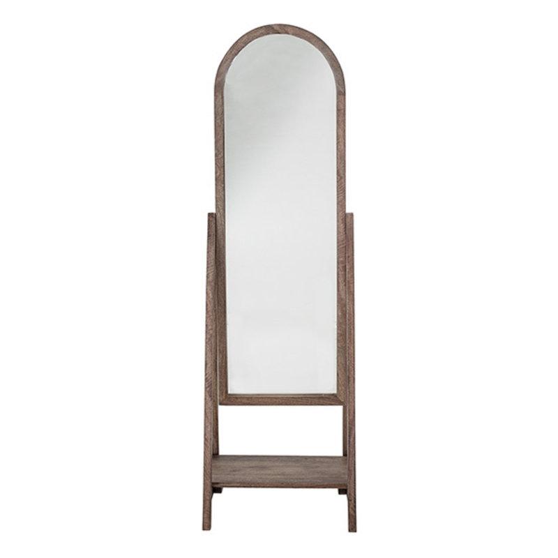Bloomingville-collectie Staande spiegel Cathia mango hout