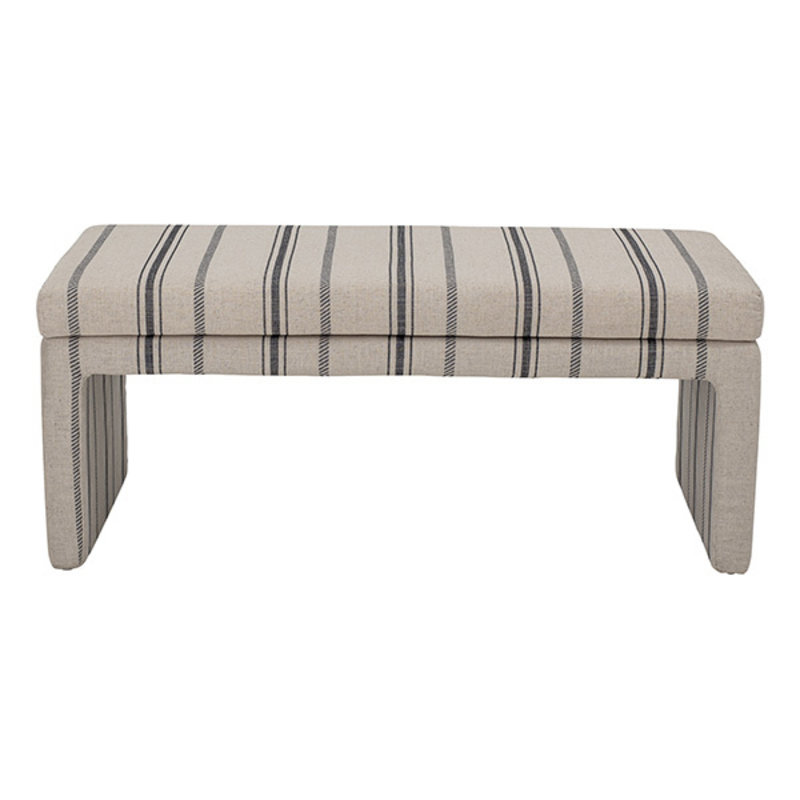 Bloomingville-collectie Cai Bench, White, Polyester