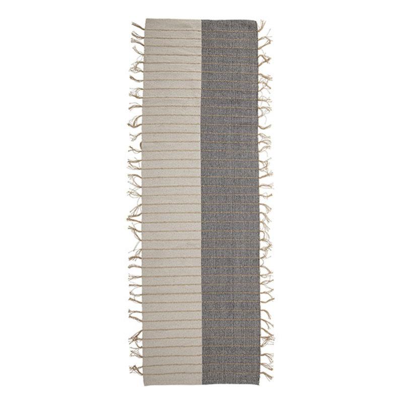 Bloomingville-collectie Loper Aciano grijs/naturel