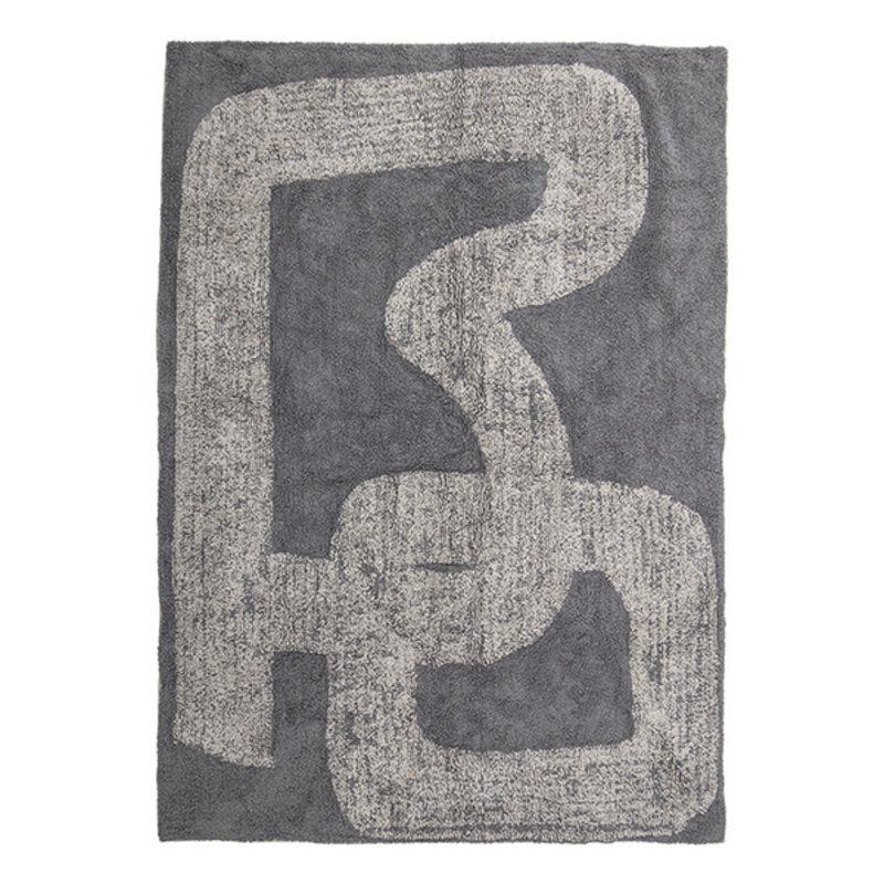 Bloomingville-collectie Vloerkleed Addo grijs