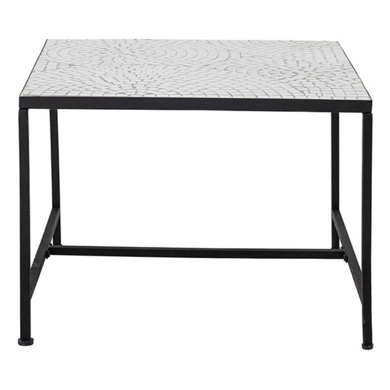 Bloomingville-collectie Niah Coffee Table, White, Stone