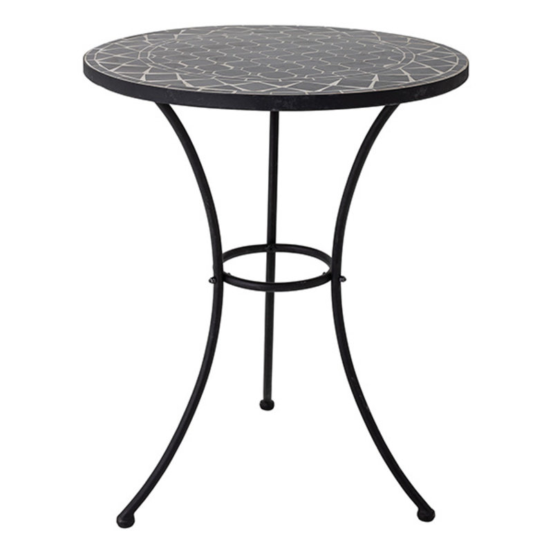Bloomingville-collectie Lala Sidetable, Black, Stone