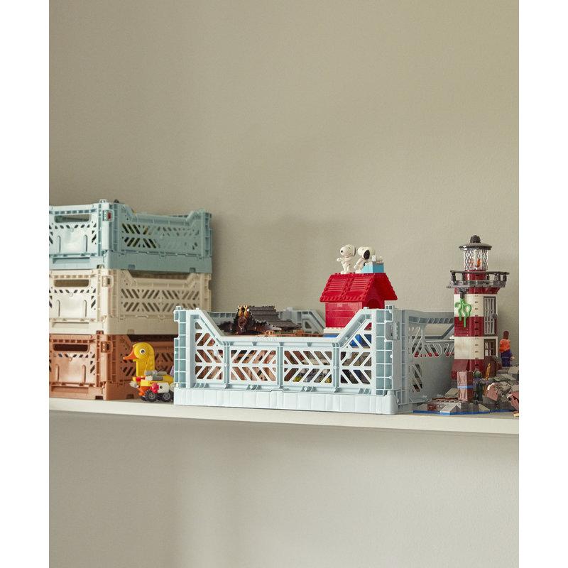 HAY-collectie Colour Crate Arctic blue S