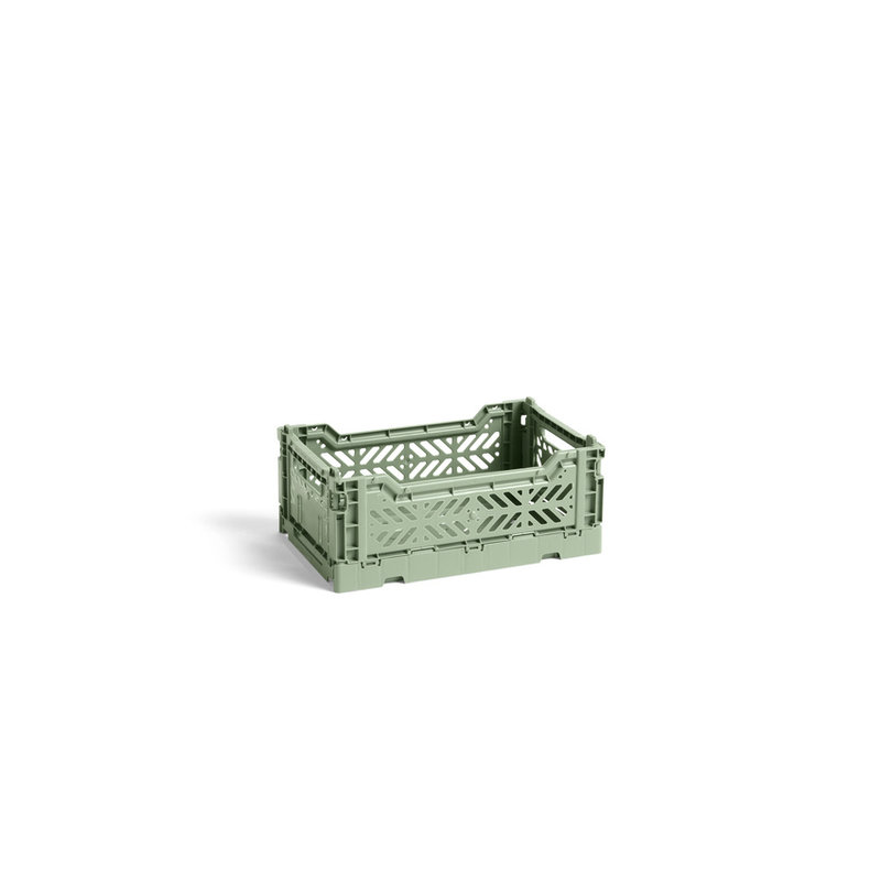 HAY-collectie Colour Crate Dusty Green S