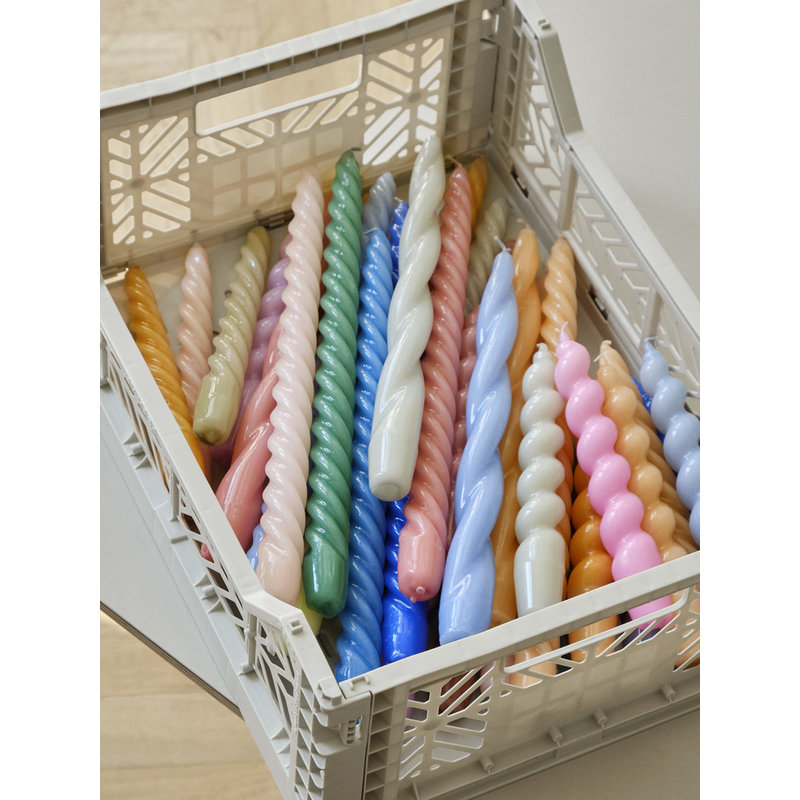 HAY-collectie Colour Crate Dusty Grey S