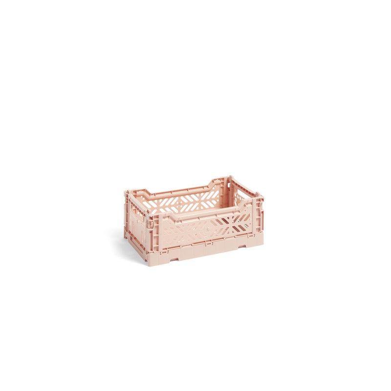 HAY-collectie Krat Colour Crate Lichtroze S